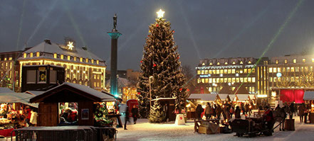 Christmas In Norway.Christmas In Norway